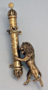Lion-Mezuzah